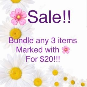 ‼3 items $10 or less, with a 🌸 for $20‼